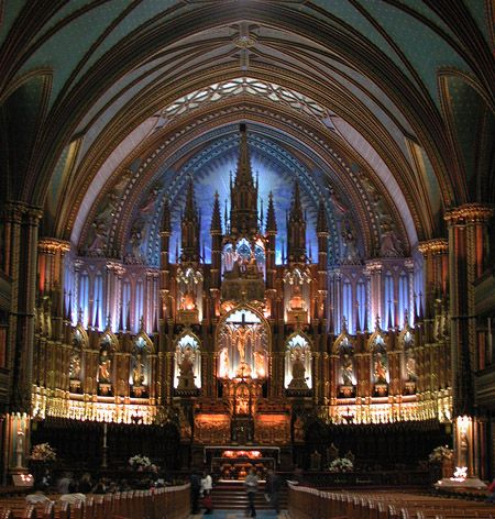 Notre-Dame Basilica, Old Montreal