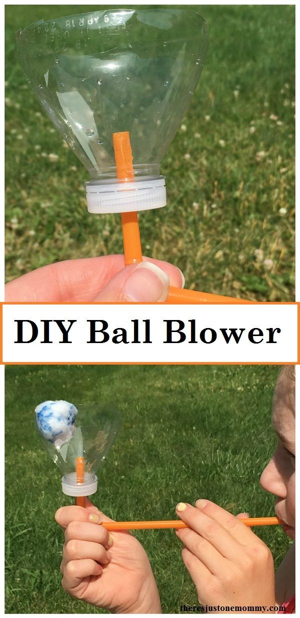 Recycling Plastic Blower : Best trash turned kids crafts made from