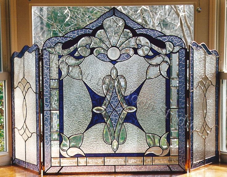 Our stained glass fireplace screens bring together functionality with the artistic beauty of stained glass. Over the years, our clients have discovered many uses for our fireplace screens. They can...