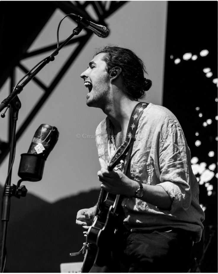 Pemberton Music Fest. Hozier 24/7 Photo by J. McInnis.
