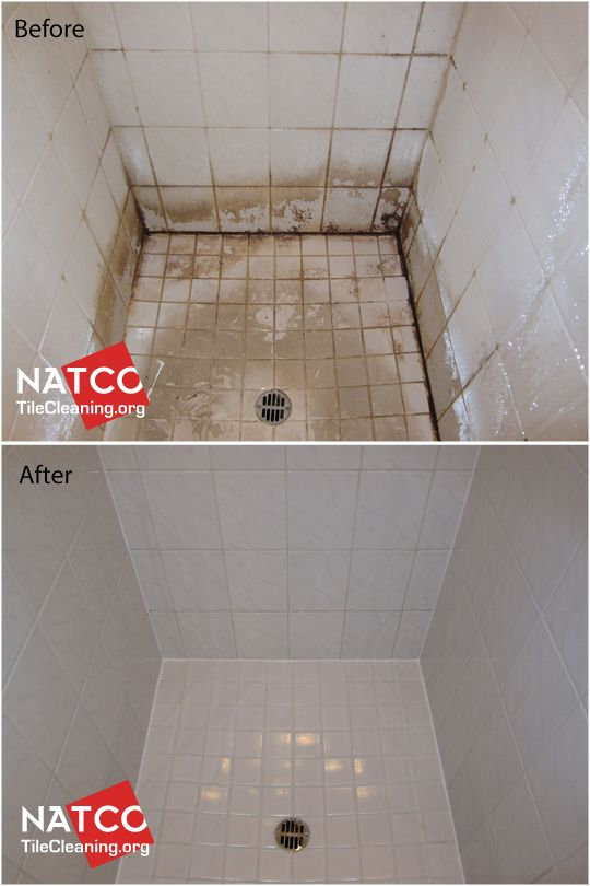 Superior Cleaning Years Of Soap Scum In Tile Shower.