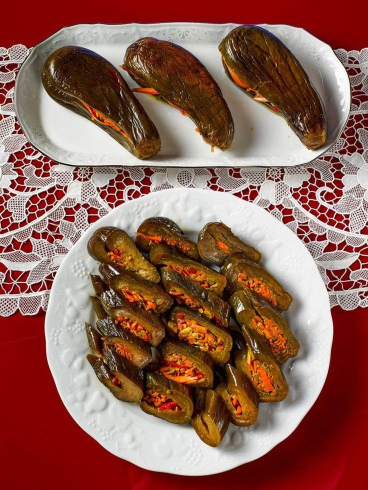 Маринованные баклажаны / Едальня