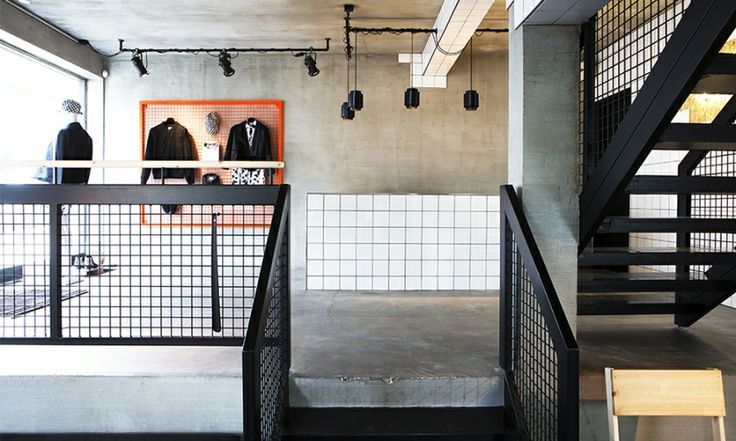 Danish clothing brand Suit has opened a new store in Reykjavik, the interior of which makes as much of a statement as the tailored apparel items for sale in the shop. The retail space has been designed by Hafsteinn Júlíusson and Karitas Sveinsdóttir, of HAF Studio, to create a unique customer experience.