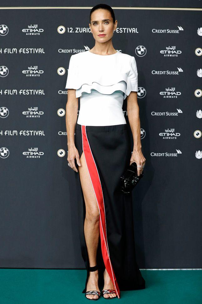 Дженнифер Коннелли в Louis Vuitton на премьере фильма «Американская пастораль» в Цюрихе