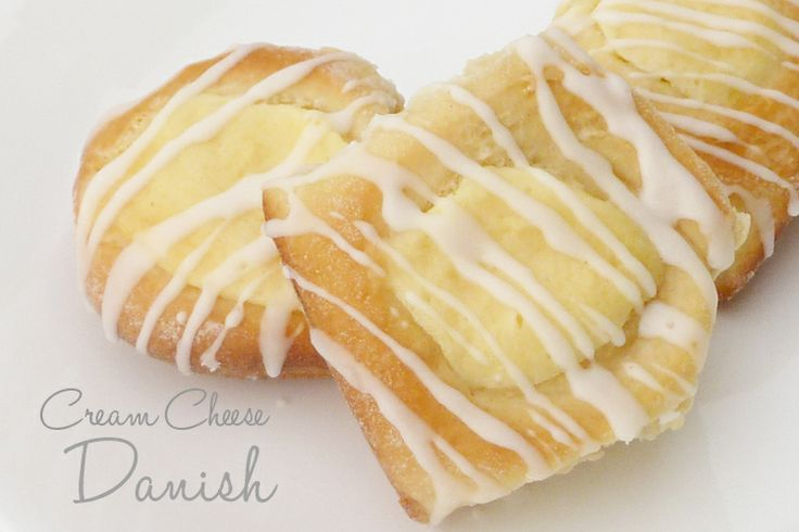 This Chick Cooks: Easy Cream Cheese Danish {using croissant dough or from scratch}