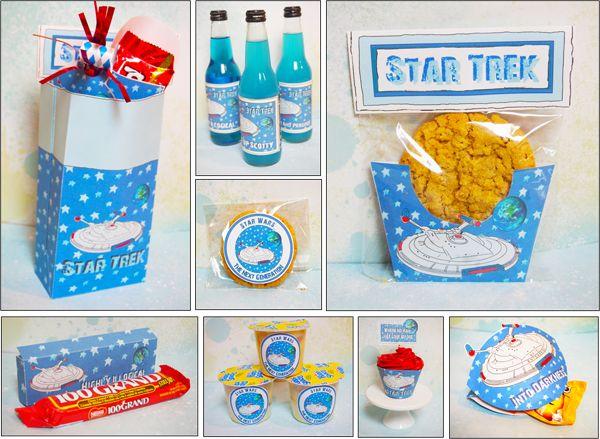party ideas, star trek