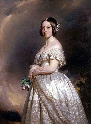 Queen Victoria, 1847 Portrait painted by Franz Xaver Winterhalter, 1847 via…