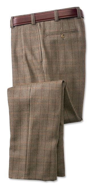 Just found this Mens Plaid Wool Pants - Lambswool Plaid Pants -- Orvis on Orvis.com!