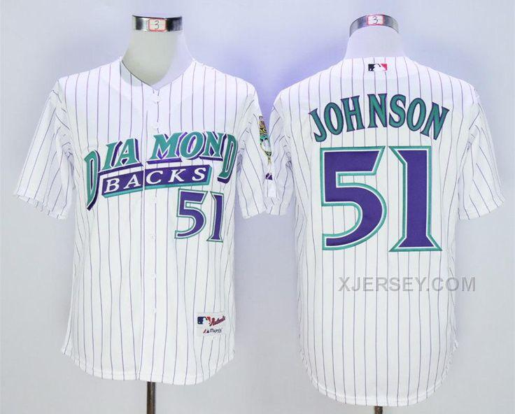 fced9cc1b ... MLB Jersey Buy Diamondbacks 51 Randy Johnson White 1999 Turn Back The Clock  Jersey from Reliable Diamondbacks 51 .