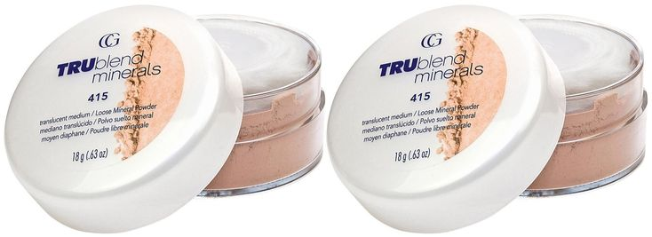 Cover Girl 04895 415med Medium True Blend Loose Powder (Pack of 2). The ultra-fine powder formula of TRUblend Microminerals Foundation easily builds coverage from sheer to full, while always looking natural. The powder is also 5x finer and preferred nearly 2-to-1 for providing a natural look versus the leading mineral foundation.; Light, finely-milled powder; Enriched with natural minerals; Shaker-topped jar with fluffy puff for easy application .