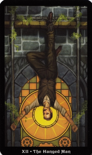 The Hanged Man - The Steampunk Tarot Find out what The Hanged Man means for you: www.tarotbyemail.com