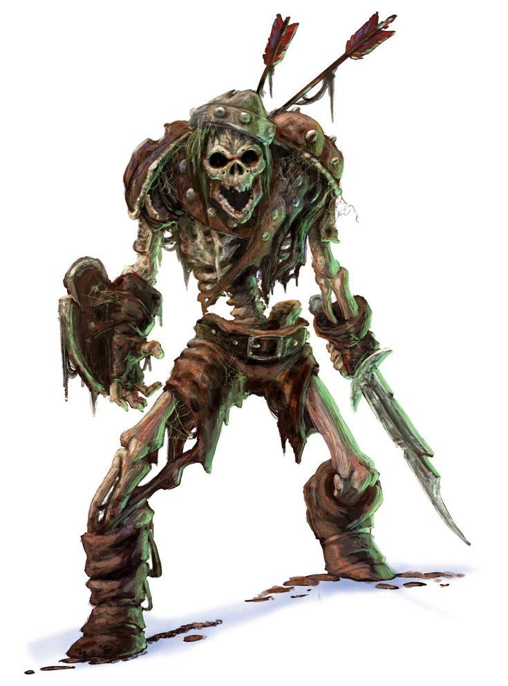 D Amp D Esqueletos Pesquisa Google Dise 241 O De Personajes