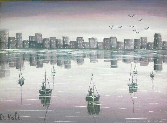 Reflection 11/06/2015 #painting #art