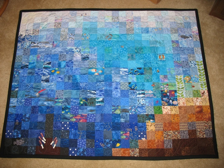 Free Quilt Patterns Beach Theme Cafca Info For