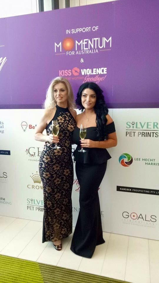 "Delighted for Dentique Dental Spa to be involved with the launch of the new Momentum For Australia charity Initiative called ""Give Back a Smile "" in conjunction with and supporting ""Kiss Violence Against Women Goodbye"" # dentiquedentalspa #invisalign # cosmeticdentist # international womansday # momentumforumevents"