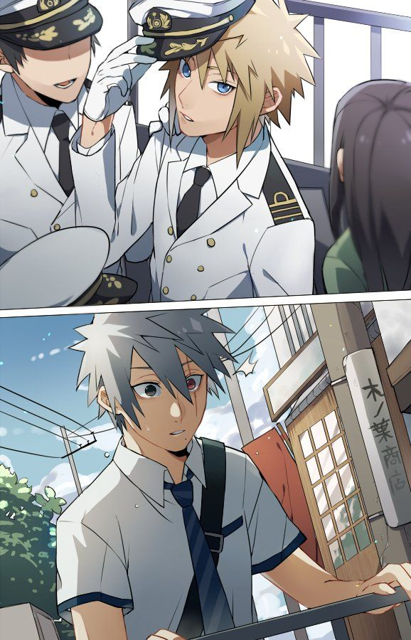is it me minato looks hot as af