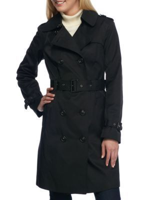 MICHAEL Michael Kors  Trench Coat with Hood