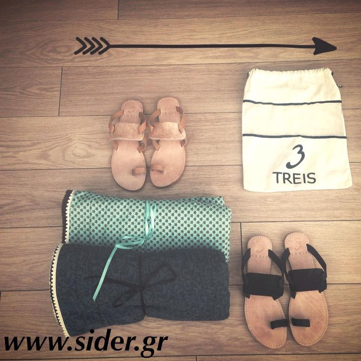 Treis#sandals#IRO#style#beach#greece#summer#fashion#towels  treis@sider_stores @treis — με τους Treis στην τοποθεσία Sider Valuable Steps.