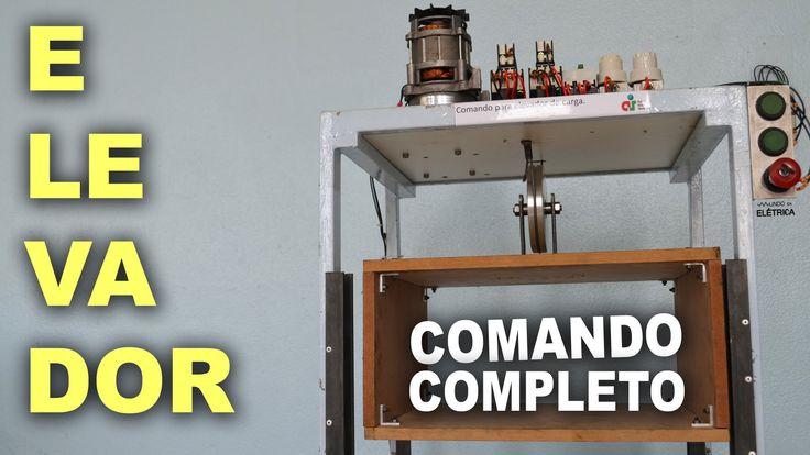 Elevador com motor de portão! Comando completo!