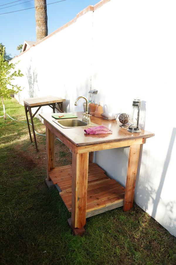 Outdoor Garden Veggie Sink