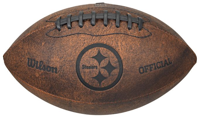 Pittsburgh Steelers Football - Vintage Throwback - 9 Inches Z157-8381370924