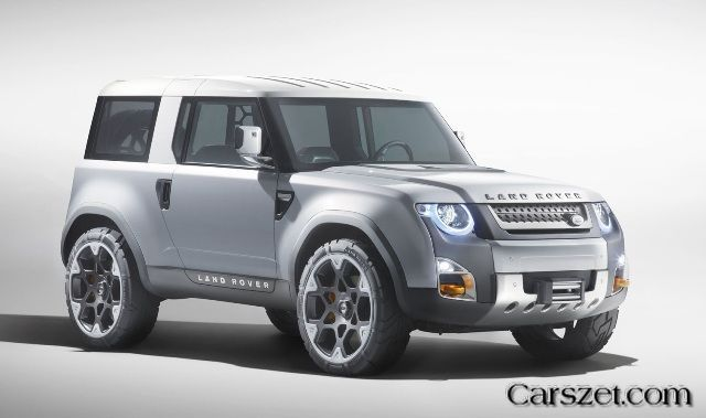 New 2018-2019 Land Rover Defender will be similar to the DC100 prototype