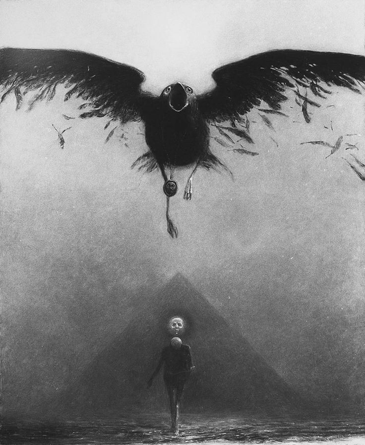 Zdzislaw Beksinski - which came first, this or the GoT graphic?? [this, actually]