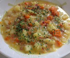 Kartoffelsuppe mit leckeren Stücken by Fluuu on www.rezeptwelt.de