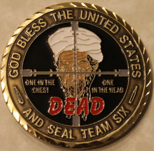 Osama Bin Laden Seal Team Six 6 September 9 11 Navy Military Challenge Coin RD | eBay