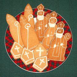 St. Nicholas cookie cutters