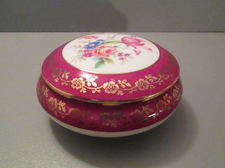 Belle boite bonbonniere en porcelaine de limoges fr for Boite africaine paris