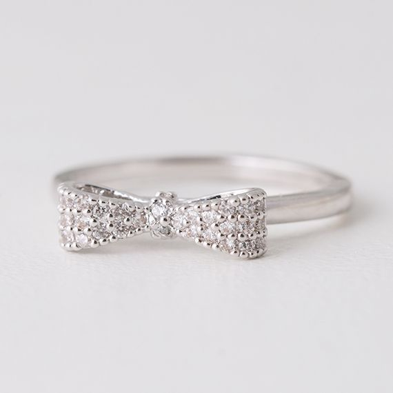 The 25 best Bow rings ideas on Pinterest