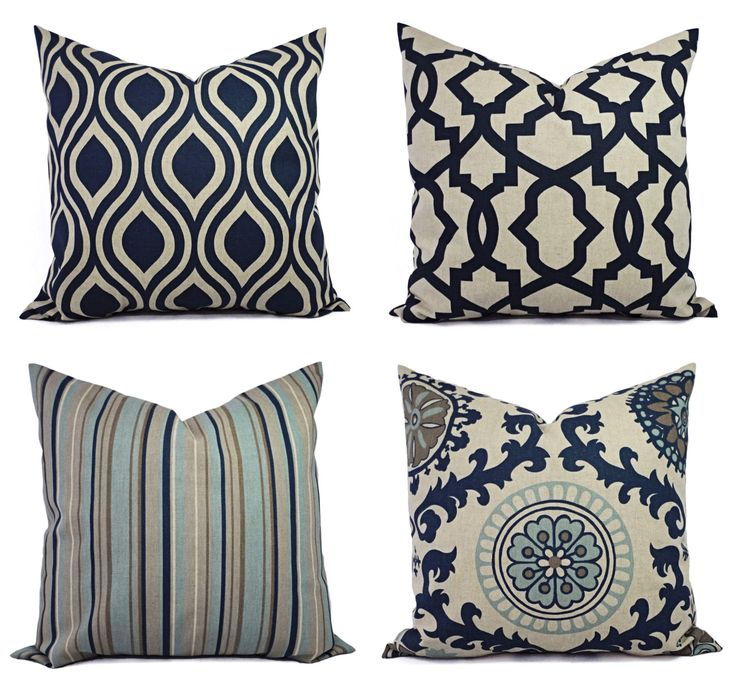 decorative pillow blue and beige decorative pillow blue taupe pillow accent pillow. Black Bedroom Furniture Sets. Home Design Ideas