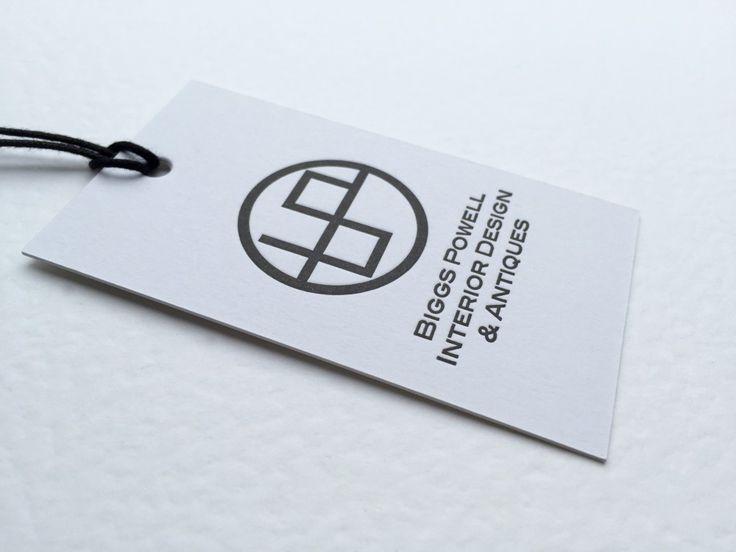 letterpress tags