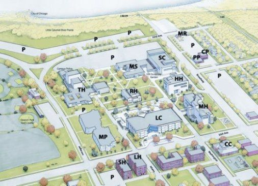 Indiana University Northwest (map)