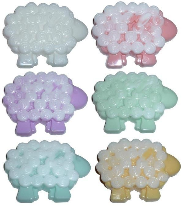 51 best karlys baby shower images on pinterest sheep shower cello bagged lamb sheep baby shower gift soap party favors negle Image collections