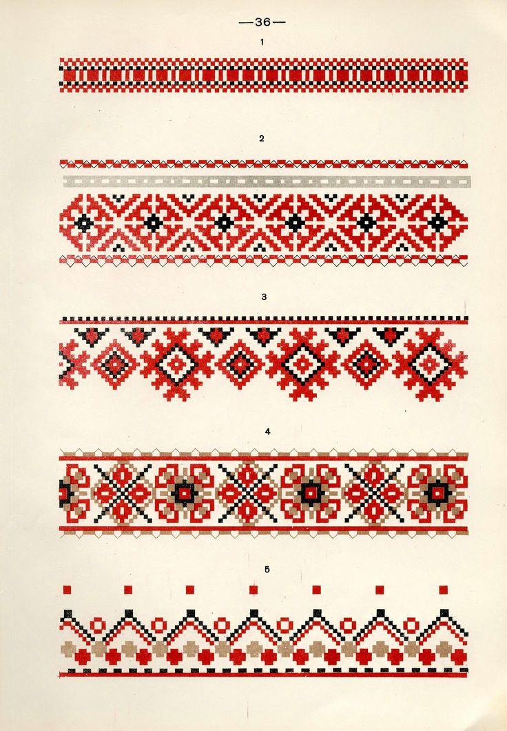 https://flic.kr/p/fQsaRG | Белорусский народный орнамент - 1953_126 | Belarusian ethnic embroidery