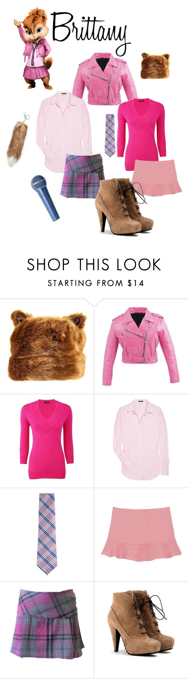 """""""Brittany"""" by djorden ❤ liked on Polyvore featuring Planet, Theory, Fairfax, Proenza Schouler and brittany the chipettes"""