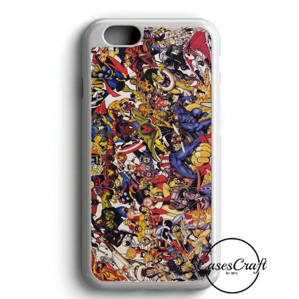 The Avengers Characters Art iPhone 6/6S Case | casescraft