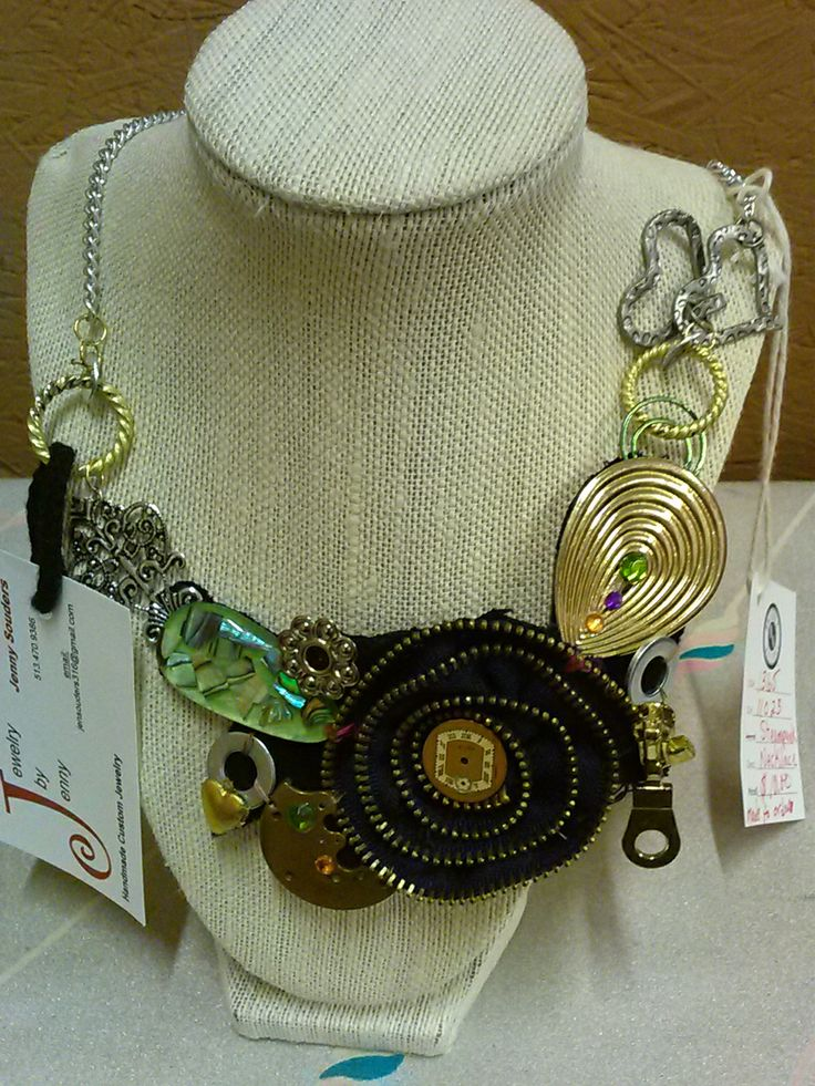 It might not be vintage but this handmade necklace is to amazing!