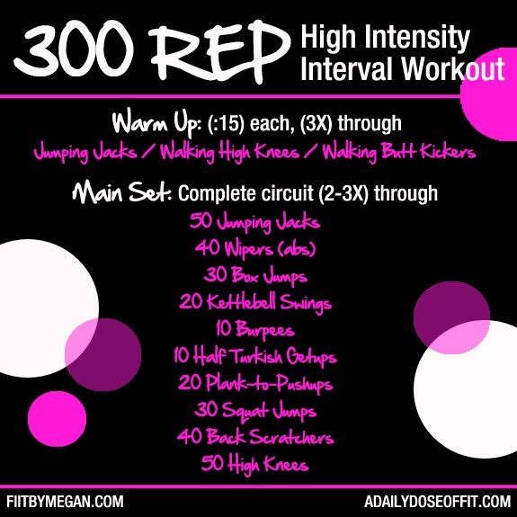 27 Best Images About Pyramid Workouts On Pinterest: A Daily Dose Of Fit: Guest Post: 300 Rep High Intensity