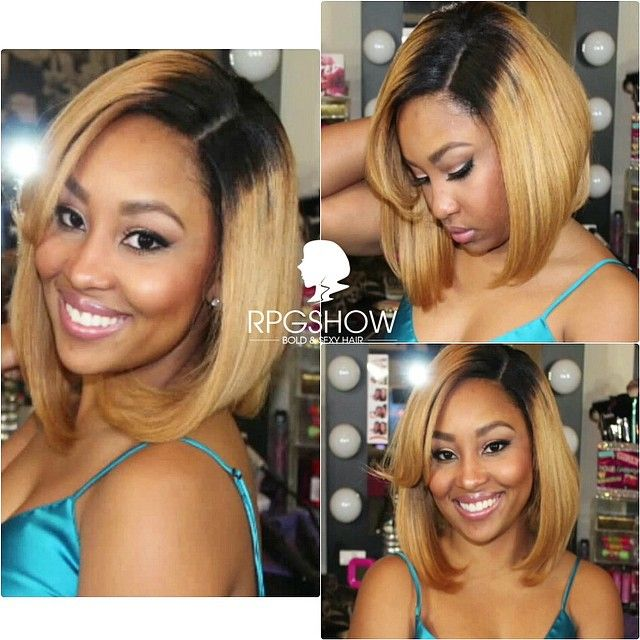 Blonde Bob Weave Full Sew In Lace Closure Black Girl Blonde Pinterest Ios App Bobs