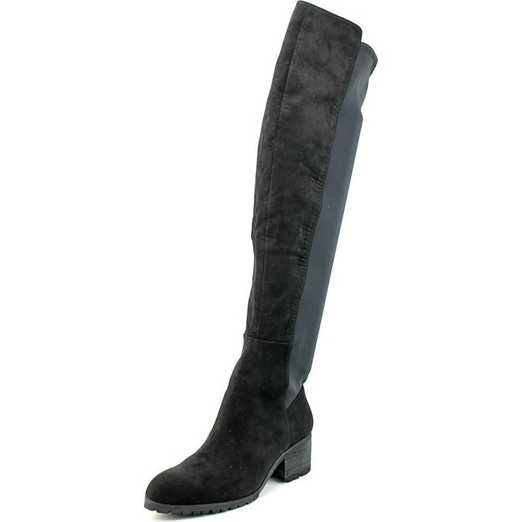 Charles By Charles David Rose Round Toe Synthetic Over The Knee Boot