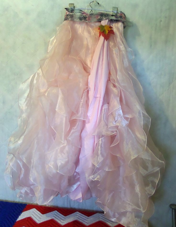 Fairy Princess Costume Gown Long Pink Steampunk Skirt Adult Medium with Wand and Arm Bands - pinned by pin4etsy.com