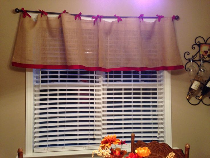 burlap curtains for the kitchen very crafty pinterest burlap kitchens and burlap kitchen curtains
