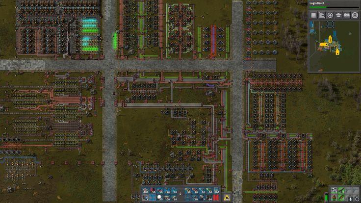 My mid game base layout idea (albeit unfinished
