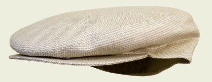 Berretto cotone e seta naturale #caps #accessories #hatter #summercaps #berretti  #bianco #fashion #unisex #vintage#revival
