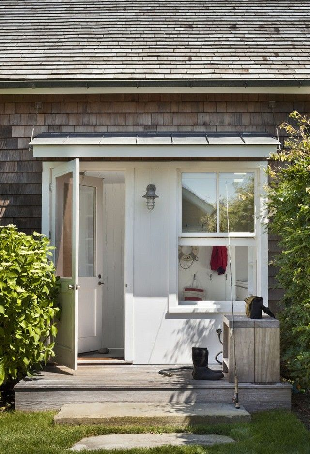 Montauk Lake House by Robert Young | Remodelista Step stones