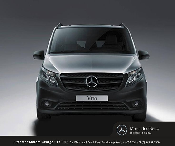 As a mid-size van the #MercedesBenz Vito sets benchmarks. Contact #TeamStanmar on 044 802 7000 for more information or to book a test drive.