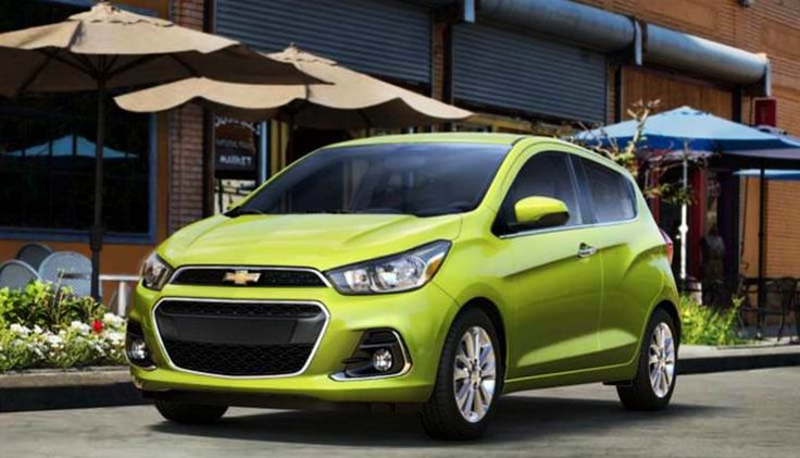 2016 Chevy Spark overview